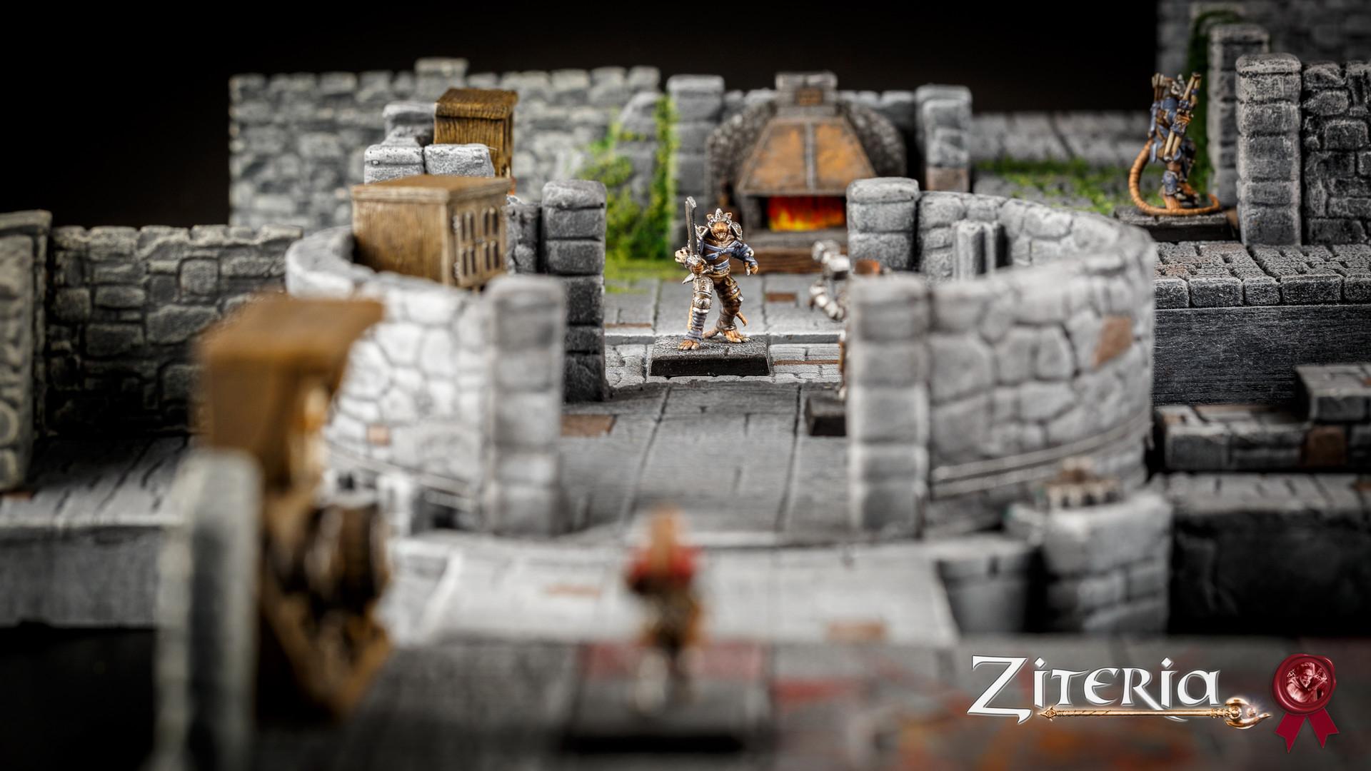 ZITERDES Dunkelstadt Dungeon