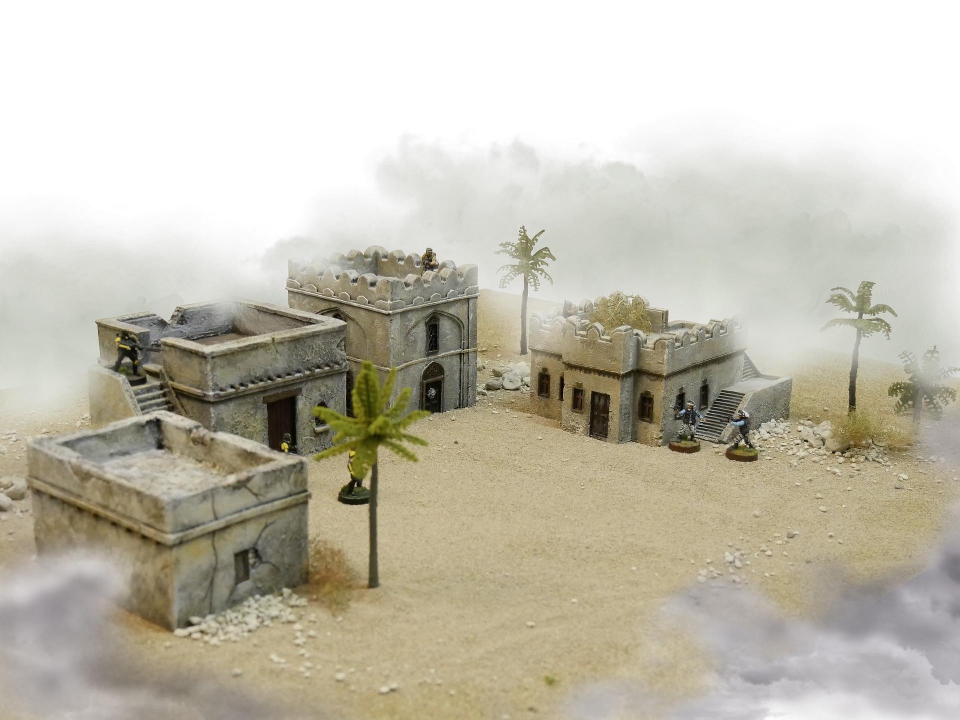 ZITERDES Weltenerschaffer Sandplanet